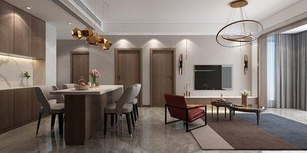 70平米一室两厅其他风格餐厅图