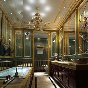 20万以上140平米四室四厅法式风格卫生间装修图片大全