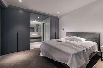130平米三室五厅现代简约风格卧室装修图片大全