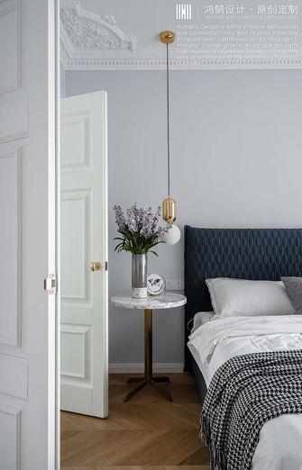 140平米三室两厅法式风格卧室图片