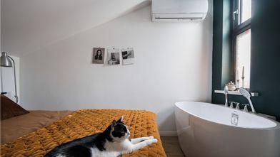 110平米三混搭风格卧室欣赏图