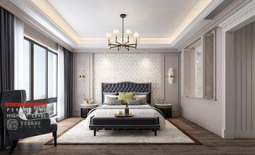 140平米四室四厅美式风格卧室欣赏图