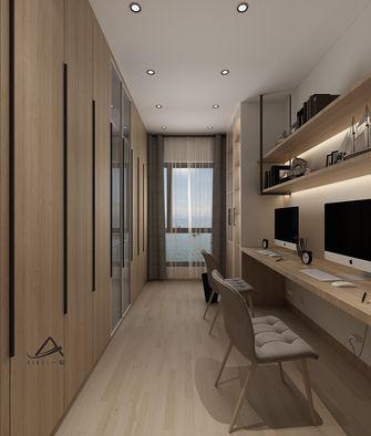 120平米三室两厅日式风格书房效果图