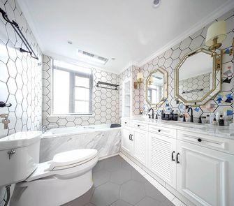 90平米四室一厅美式风格卫生间装修图片大全