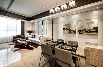 80平米东南亚风格客厅设计图