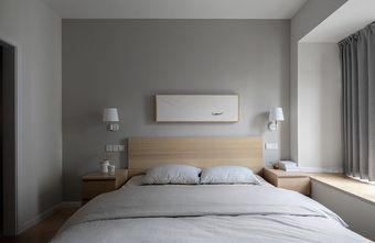 90平米三室三厅日式风格卧室图片