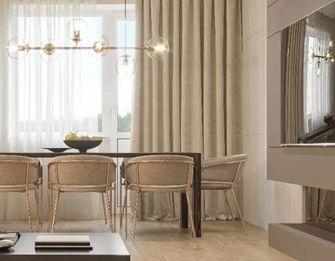 140平米四室四厅现代简约风格餐厅设计图