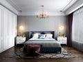 100平米三法式风格卧室装修案例