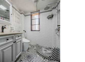 120平米三室两厅美式风格卫生间浴室柜图