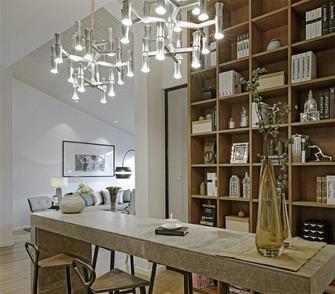 90平米现代简约风格书房装修案例