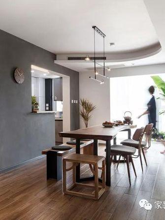 80平米一居室新古典风格餐厅图