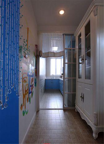 60平米一室一厅地中海风格走廊效果图