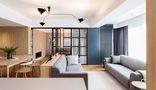 140平米三室两厅宜家风格客厅设计图