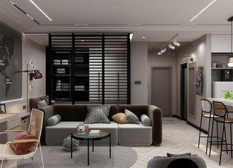 90平米三室一厅北欧风格客厅图