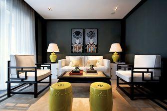120平米别墅中式风格客厅装修效果图