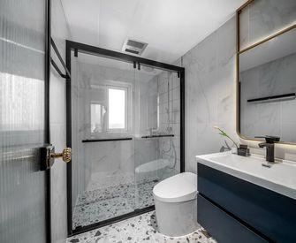 90平米三室一厅现代简约风格卫生间图片