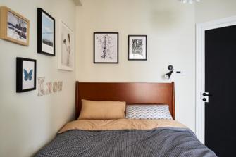 80平米三室两厅混搭风格卧室欣赏图