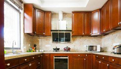 富裕型140平米四室五厅现代简约风格厨房图