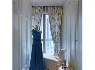 140平米三室一厅美式风格衣帽间图片