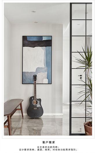 豪华型110平米四室两厅北欧风格玄关装修图片大全