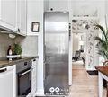40平米小户型北欧风格厨房图片大全
