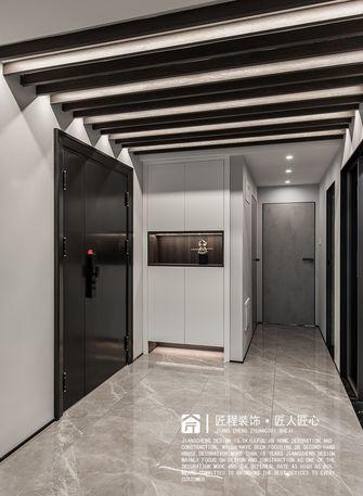 140平米三室两厅现代简约风格玄关图片大全