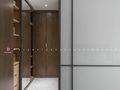 140平米三室两厅英伦风格衣帽间设计图
