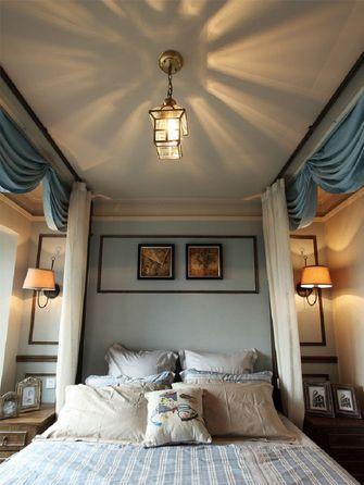 15-20万90平米三室一厅法式风格卧室欣赏图