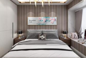 100平米三室一厅现代简约风格卧室欣赏图