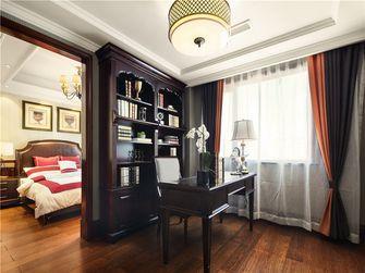 140平米四室两厅英伦风格书房图片大全