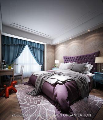 富裕型140平米四室四厅新古典风格卧室装修图片大全