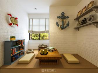 140平米三室两厅地中海风格阳光房装修案例