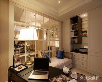 140平米三室两厅现代简约风格书房家具效果图