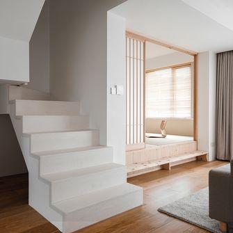 140平米三室两厅日式风格楼梯间图