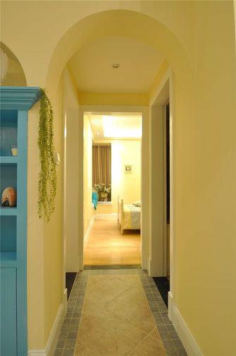 90平米三室两厅地中海风格走廊图片