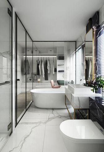 110平米三室两厅现代简约风格卫生间橱柜图片大全