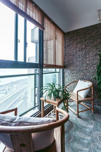 5-10万100平米东南亚风格阳台设计图