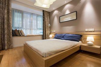 富裕型120平米三室四厅现代简约风格卧室欣赏图