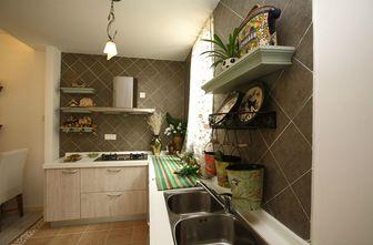 110平米三室两厅田园风格厨房图片