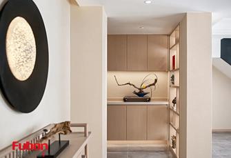 经济型140平米四室三厅日式风格玄关装修效果图