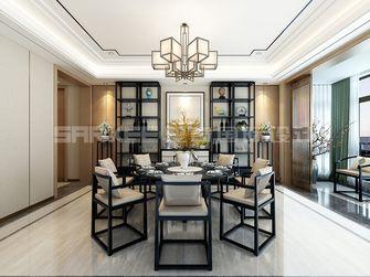 140平米四室四厅中式风格餐厅图片
