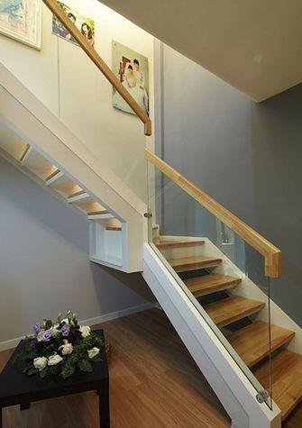 富裕型140平米别墅混搭风格楼梯图片