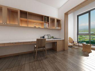 130平米三室两厅日式风格书房装修案例