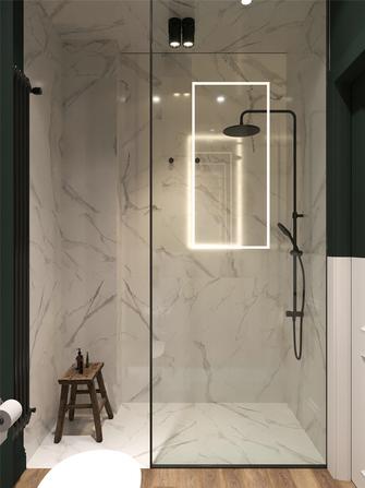 70平米公寓美式风格卫生间图片