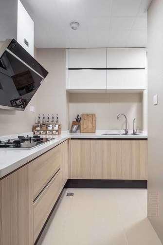 90平米三室三厅宜家风格厨房装修图片大全