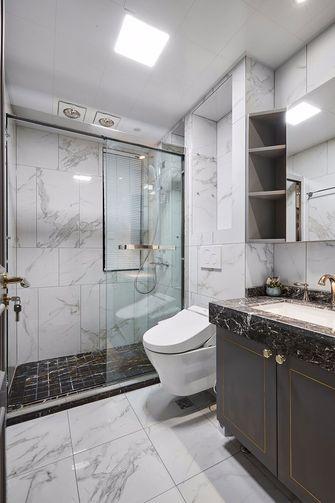 110平米三室一厅法式风格卫生间设计图