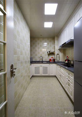 120平米三室两厅新古典风格厨房欣赏图
