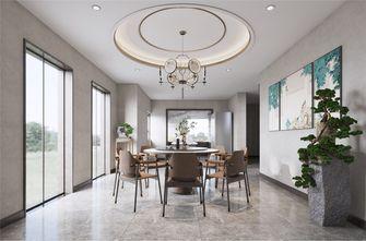 140平米复式中式风格餐厅效果图