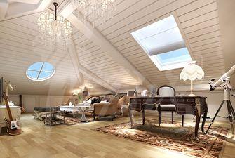 140平米别墅欧式风格阁楼装修案例