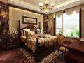 富裕型140平米三室两厅美式风格卧室装修效果图